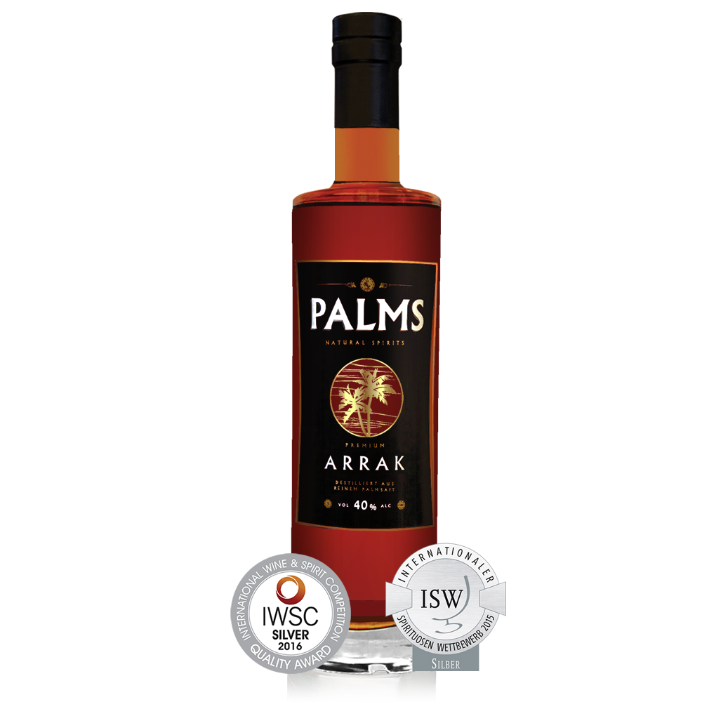 PALMS Premium Arrak  - 40% vol - 700 ml